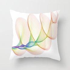 Blow the Horn Throw Pillow