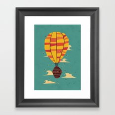 dangerous living Framed Art Print