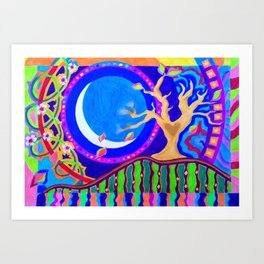Seasons & Phases Art Print