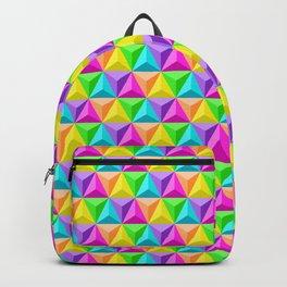 Rainbow Geodesic Backpack