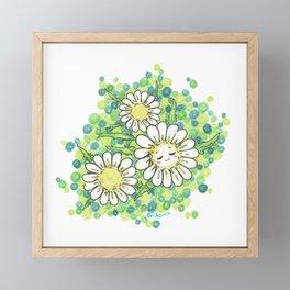 SWEET DAISY Framed Mini Art Print
