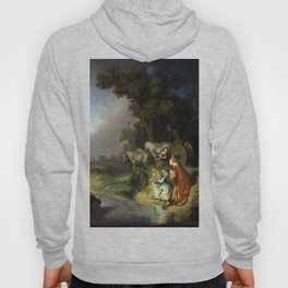 Rembrandt Abduction of Europa Hoody