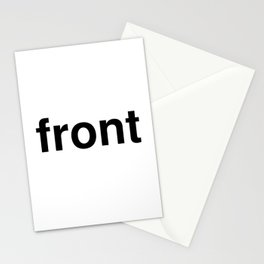 front Stationery Cards
