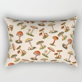 Magical Mushrooms Rectangular Pillow