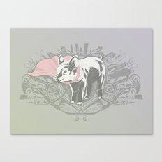 Fearless Creature: Oinx Canvas Print