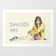 Hyuna Art Print