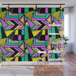 crazy 80s Wall Mural
