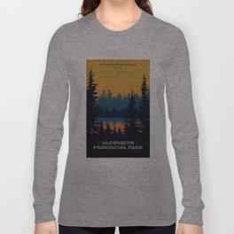 Algonquin Park Poster Langarmshirt