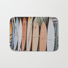 lets surf ii Bath Mat
