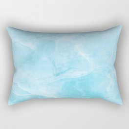 Larimar Stone Shadow Rectangular Pillow