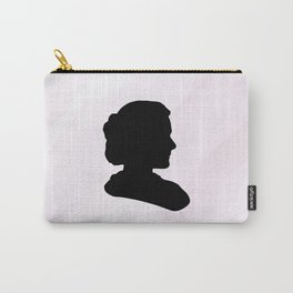 Marie Curie Scientist Silhouette Carry-All Pouch