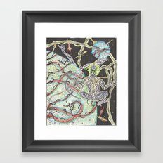 The Lines That Govern All Choices Framed Art Print