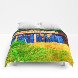 Farnsworth Lumber Yard Comforters