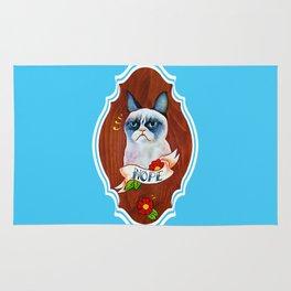 Feline Denial Rug
