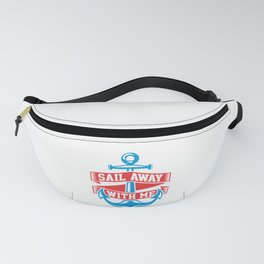 Sail Away With Me Fanny Pack