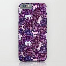 The White Unicorns Slim Case iPhone 6s