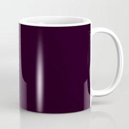 Simply Deep Eggplant Purple Coffee Mug