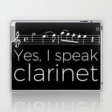 Yes, I speak clarinet Laptop & iPad Skin