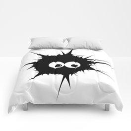Cute monster furry Comforters