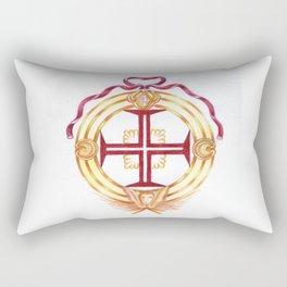 Templar cross. Cruz Templária Rectangular Pillow