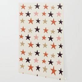 Star Pattern Color Wallpaper