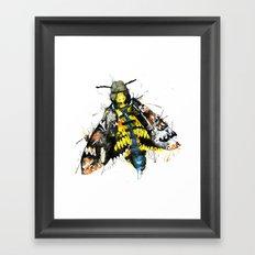 Death Moth  Framed Art Print
