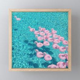 pool Framed Mini Art Print