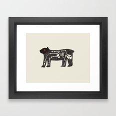 No One To Blame Framed Art Print