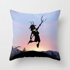 Loki Kid Throw Pillow