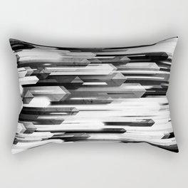 obelisk posture 2 (monochrome series) Rectangular Pillow