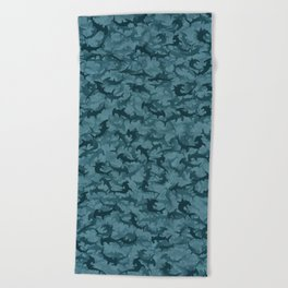 Hammerheads sharks Beach Towel