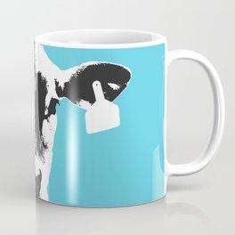 Springtime Portrait Sky Blue Coffee Mug