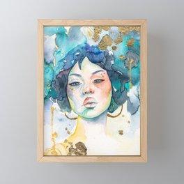 Aurelia Framed Mini Art Print