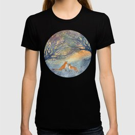 The Two Foxes T-shirt