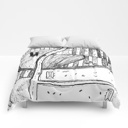Farmland Drawing Comforters