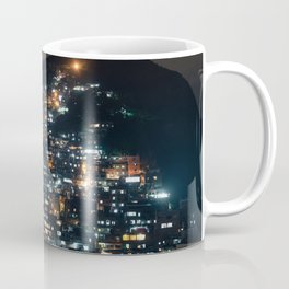 Rio Favela at Night Coffee Mug
