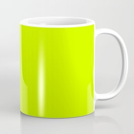 Bright green lime neon color Coffee Mug