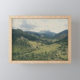 Into the Valley Framed Mini Art Print