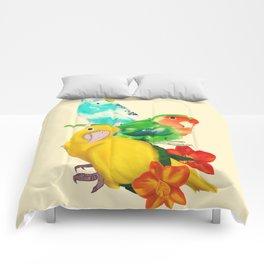 Beautiful Birds Comforters