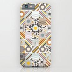 urban jungle squares iPhone 6s Slim Case