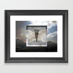 mirrorcell. Framed Art Print