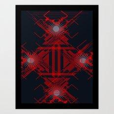 RoguePattern Art Print