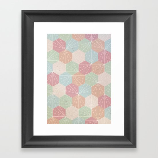 Pastel Framed Art Print