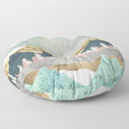Summer Vista Floor Pillow