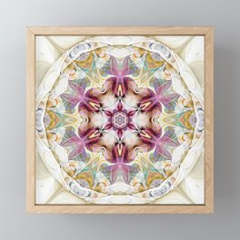 Mandalas from the Heart of Change 7 Framed Mini Art Print