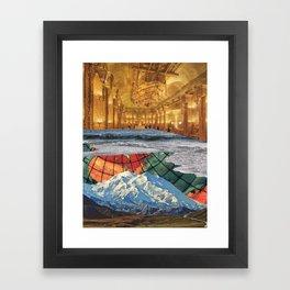 Save Our Ship Framed Art Print