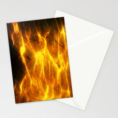 Watery Flames Stationery Cards