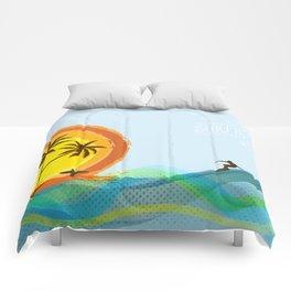 Enjoy summer Comforters
