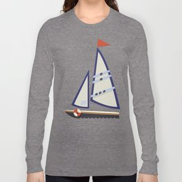 Sailboat I Long Sleeve T-shirt