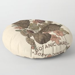 Botanic Garden Floor Pillow